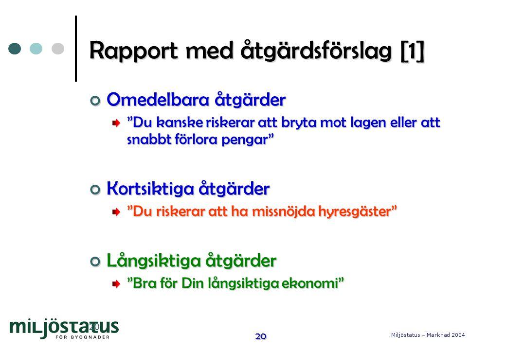 Rapport med åtgärdsförslag [1]